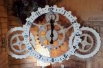 即決☆スチームパンクギア アートウォールクロック LL 掛時計