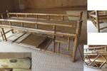 【艸】 唐物 斑竹 短冊型 茶棚 茶道具 1nov1