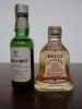 ミニチュアボトル。ブラック&ホワイト、BELL'S。