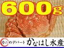 1円カニデパ超特大600gボイル堅毛蟹③北海道産極上活目700年末OK