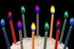 ケーキ ろうそく 5色 2 セット 誕生日 パーティー キ33